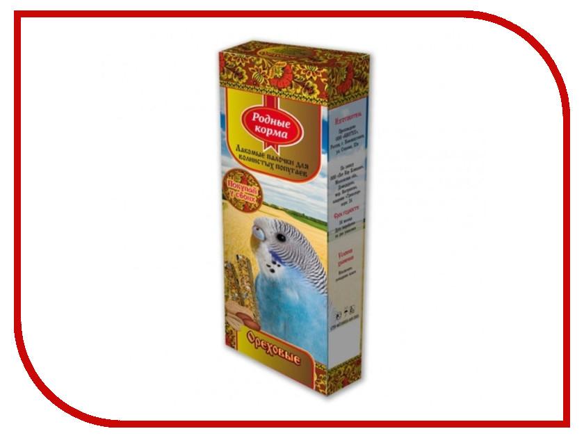 Корм Родные Корма Зерновая палочка с орехами 45г для попугаев 60974