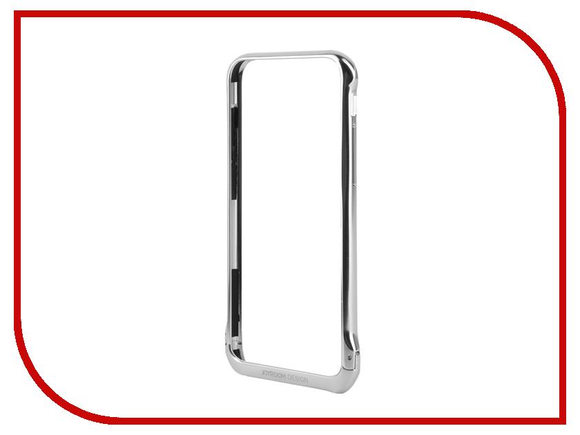 Аксессуар Чехол-бампер JoyRoom Protection для iPhone 6 / 6S Silver 16509<br>