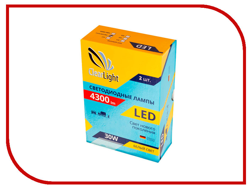 Лампа ClearLight H11 Lum 4300 CLLED43H11
