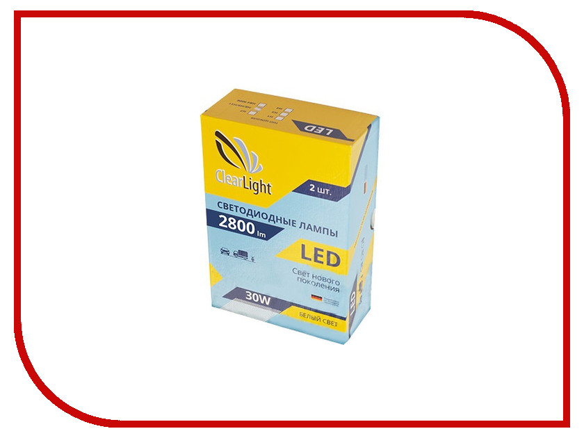 Лампа ClearLight H4 Lum 2800 CLLED28H4