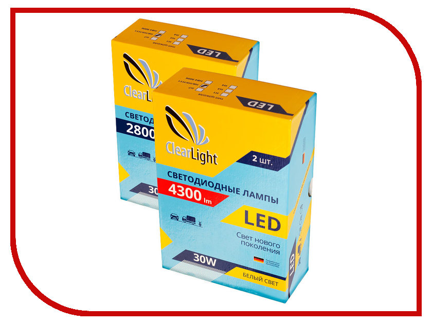 Лампа ClearLight H7 Lum 4300 CLLED43H7