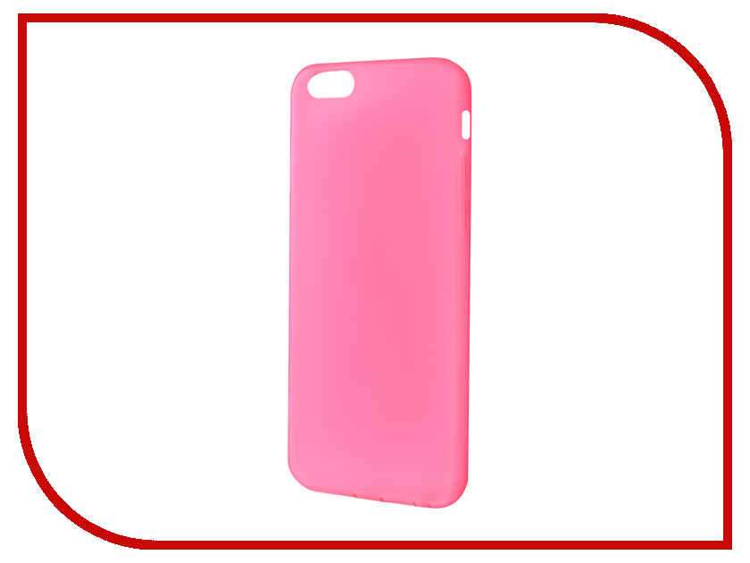 Аксессуар Чехол JoyRoom Morning для iPhone 6 / 6S Pink-Red 20759<br>