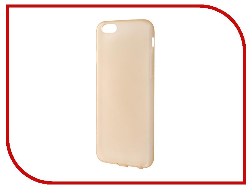 Аксессуар Чехол JoyRoom Morning для iPhone 6 / 6S Yellow 20728<br>