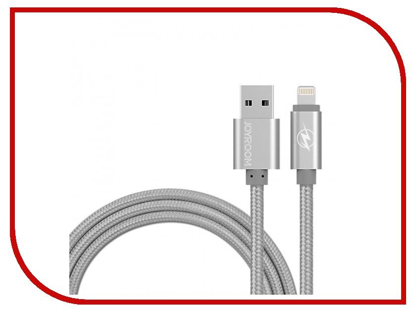 Аксессуар JoyRoom MFi Braided USB-Lightning 120cm Grey 17865<br>