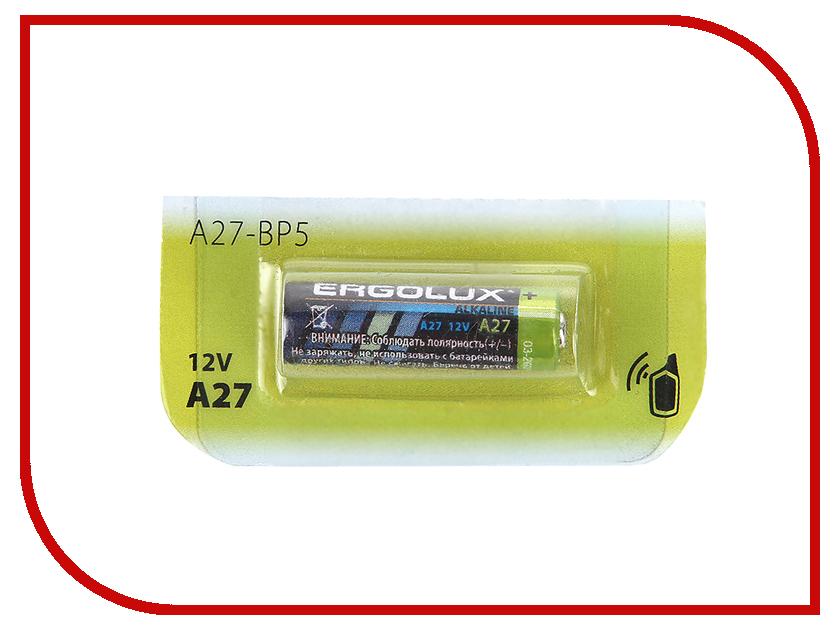 Батарейка A27 - Ergolux LR27A 12297 (1 штука)
