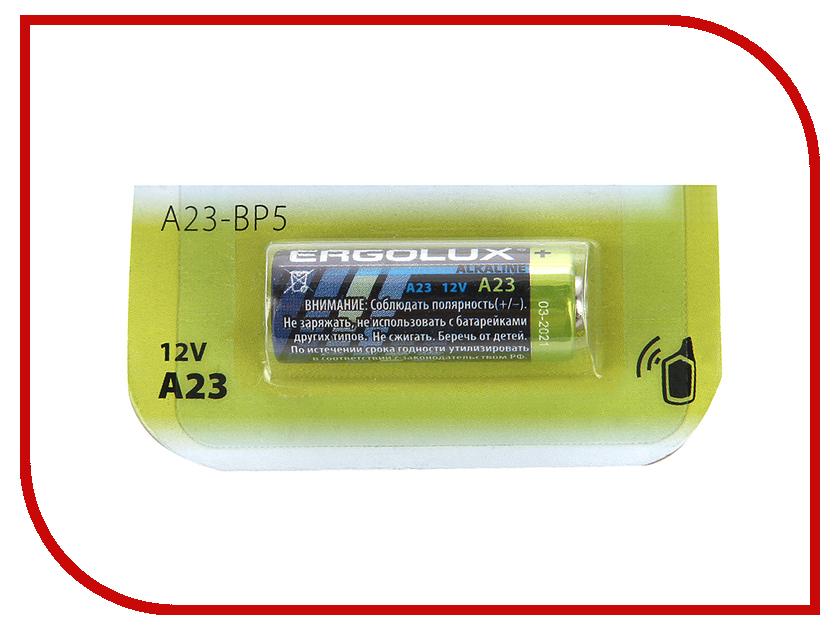 Батарейка A23 - Ergolux LR23A 12296 (1 штука)<br>