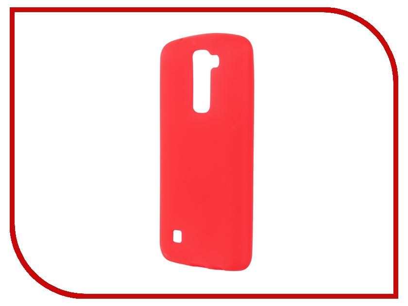 Аксессуар Чехол LG K7 X210DS Activ Red 57798