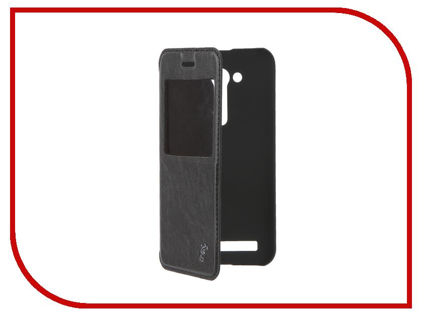 Аксессуар Чехол ASUS ZenFone Go ZB452kg G-Case Slim Premium Black GG-679 vintage embossed crescent drop earrings