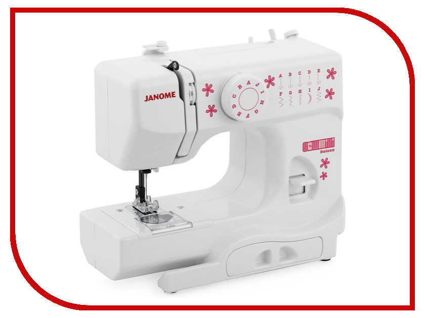 Швейная машинка Janome Sew Mini Deluxe швейная машина janome sew easy