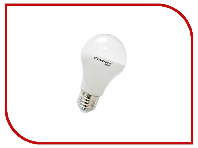 Лампочка Спутник LED A60 10W 3000K E27 16-A60-10W-3000-E27<br>