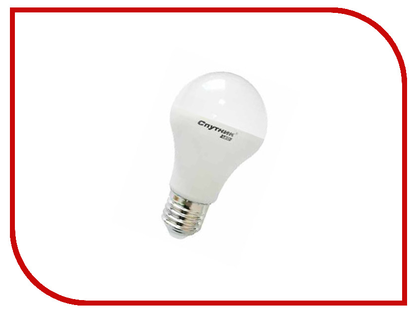 Лампочка Спутник LED A60 7W 3000K E27 16-A60-7W-3000-E27<br>