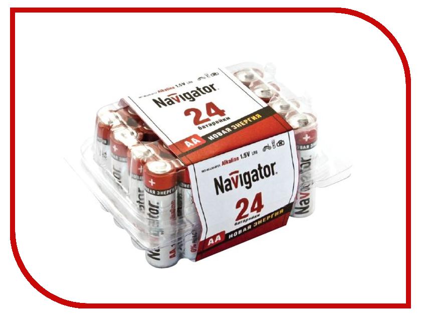 Батарейка AA - Navigator Alkaline 94 786 LR06-24BL (24 штуки)
