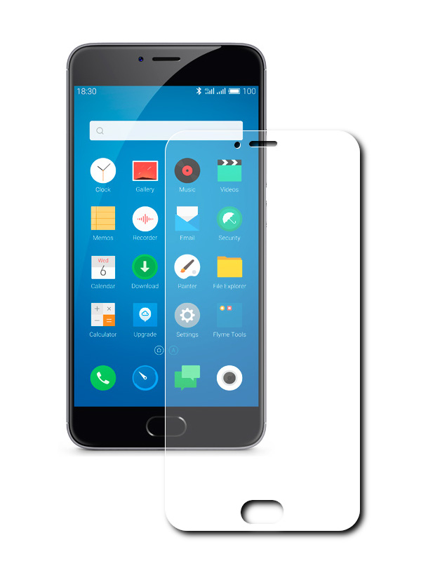 Аксессуар Защитная пленка для Meizu M3 Note 5.5 Red Line Full Screen УТ000008899 защитная пленка meizu для meizu m6 прозрачный