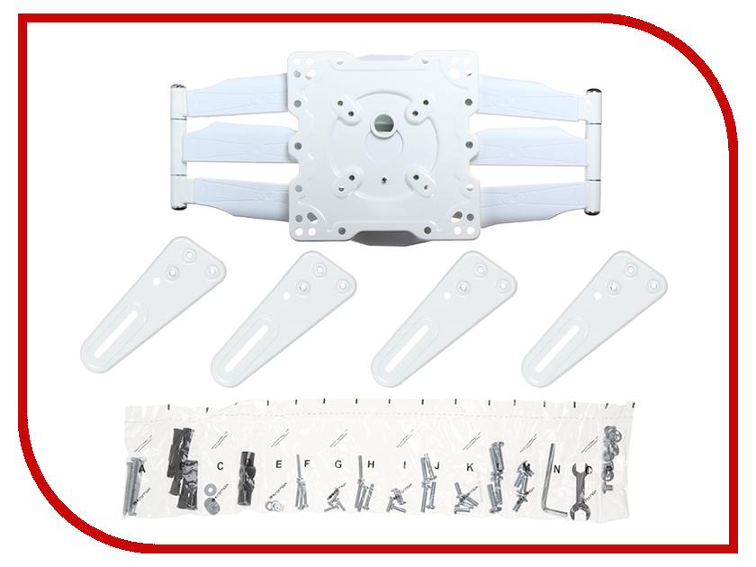 Кронштейн Kromax Atlantis-45 (до 45кг) White kromax atlantis 45 grey кронштейн для тв