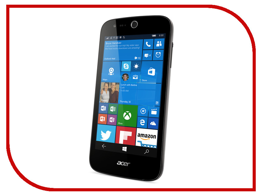 Сотовый телефон Acer Liquid M330 Black