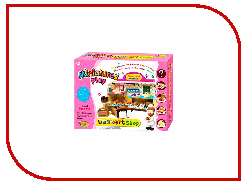 Набор для лепки Donerland Miniature Play Desert Shop NA15012<br>
