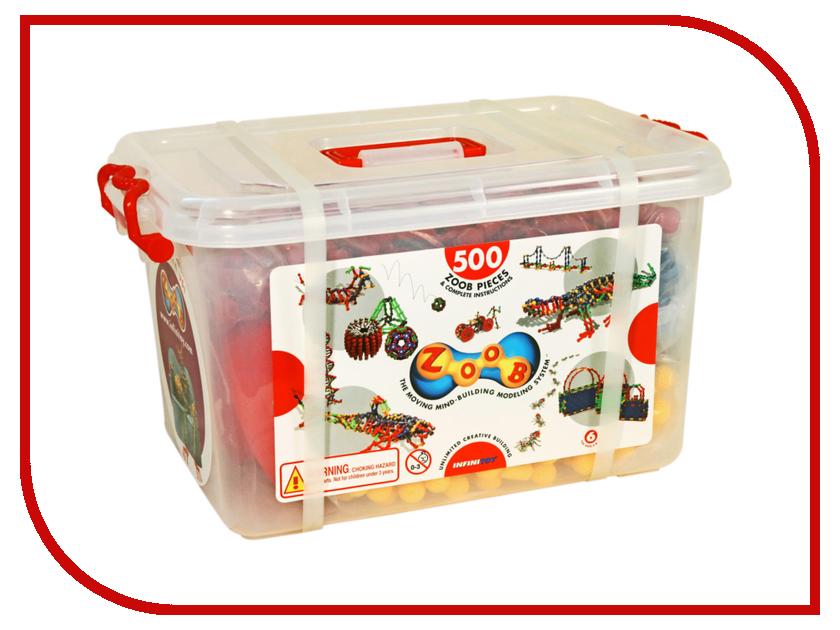 Конструктор ZOOB 500 11500 конструкторы zoob подвижный конструктор zoob с инерционным механизмом oz12055