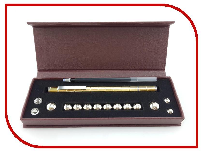 Гаджет МирМагнитов Polar Pen NEW магнитная ручка Gold 5212427