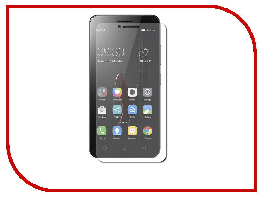 Аксессуар Защитное стекло Lenovo Vibe C A2020 5 Red Line Tempered Glass смартфон lenovo vibe c 2 power k10a40 white