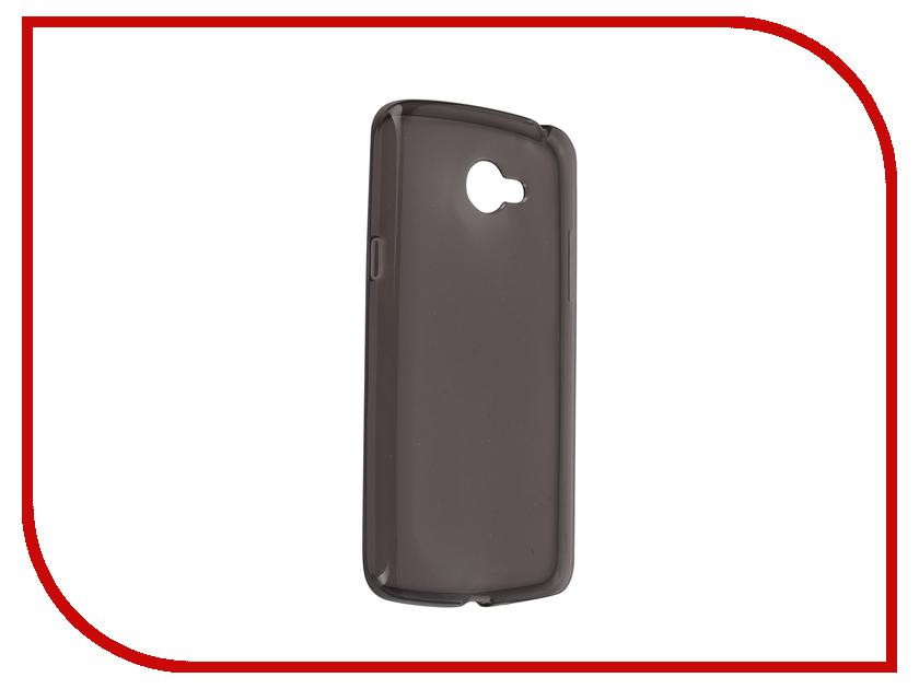 Аксессуар Чехол-накладка LG K5 iBox Crystal Grey