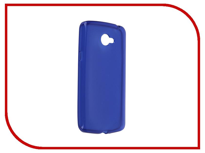 Аксессуар Чехол-накладка LG K5 iBox Crystal Blue аксессуар чехол ibox slider universal 4 2 5 inch blue