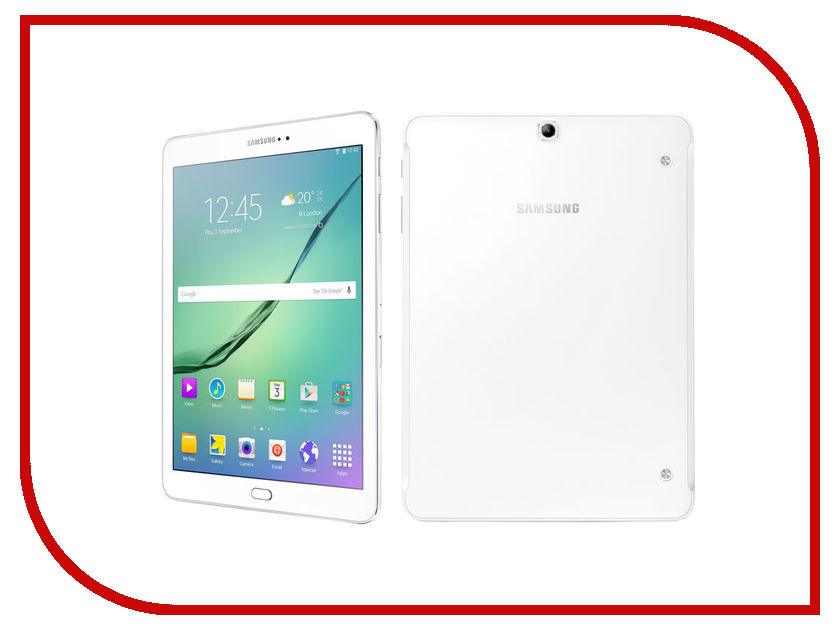 Планшет Samsung SM-T813 Galaxy Tab S2 9.7 - 32Gb White SM-T813NZWESER Qualcomm Snapdragon 652 1.8 GHz/3072Mb/32Gb/Wi-Fi/Bluetooth/Cam/9.7/2048x1536/Android<br>