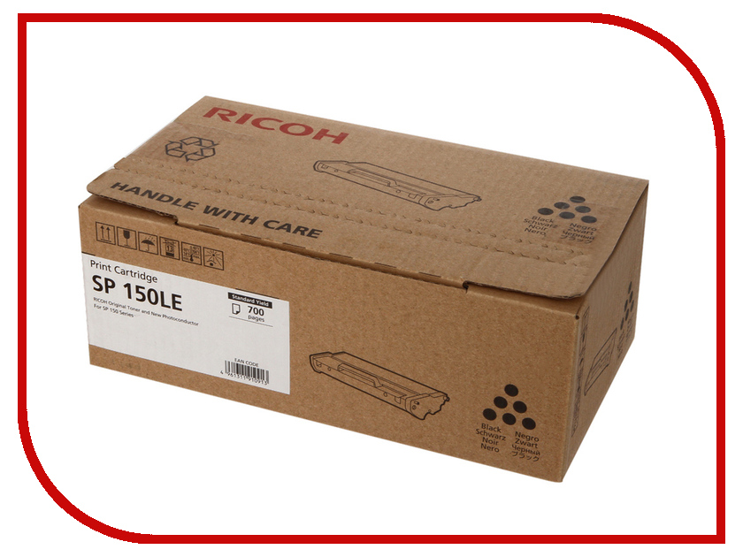 Картридж RICOH SP 150LE для SP150/SP150SU Black 700 страниц compatible ricoh sp150 sp150 su for ricoh toner cartridge 700 page yield