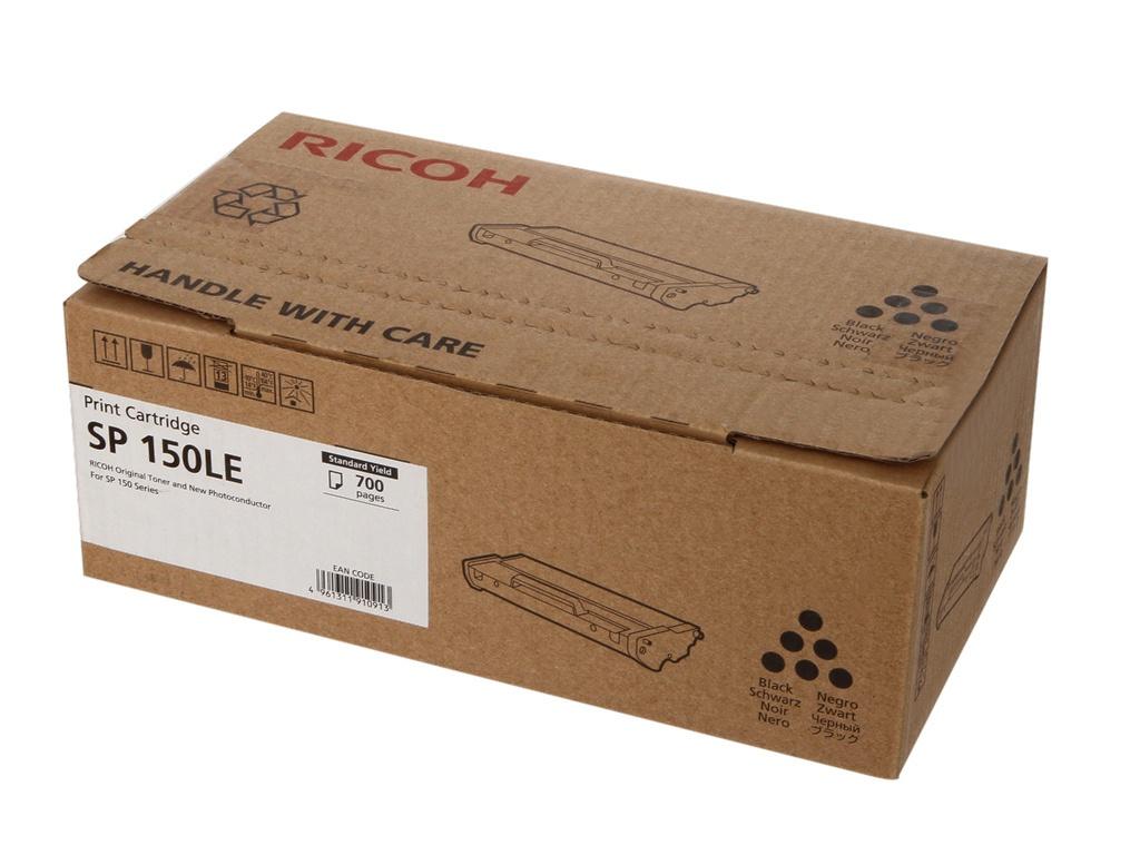 Картридж Ricoh SP 150LE для SP150/SP150SU Black 700 страниц