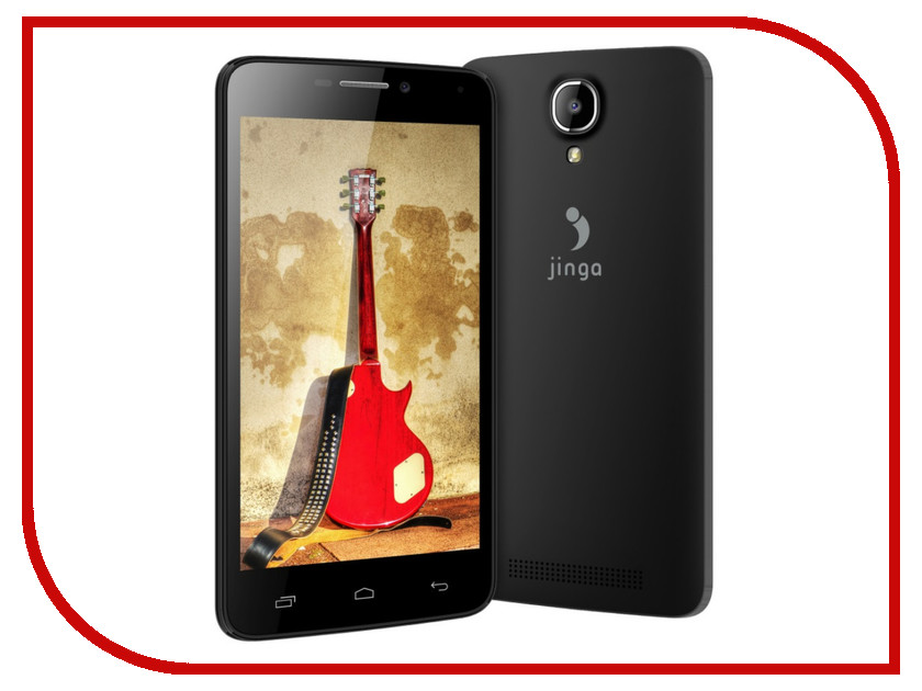 Сотовый телефон Jinga Basco L451 Black