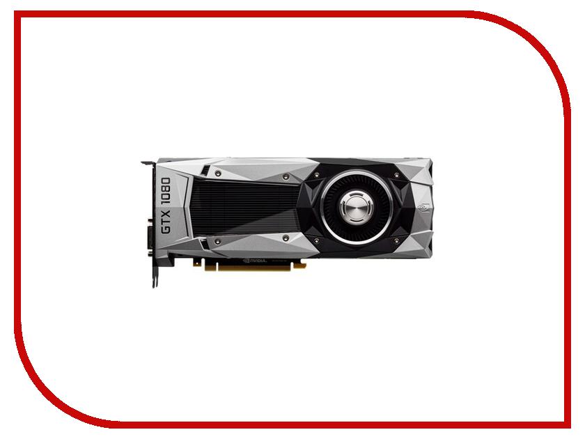 Видеокарта ASUS GeForce GTX 1080 1607Mhz PCI-E 3.0 8192Mb 10000Mhz 256 bit DVI HDMI HDCP GTX1080-8G