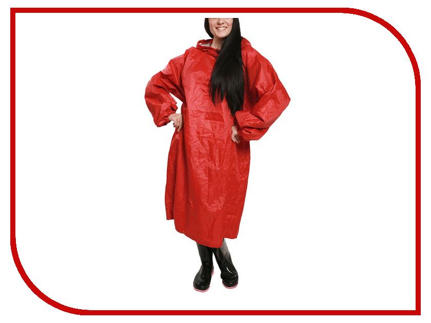 Влагозащитная одежда Русский дождевик Артик 52-62 Red плащ ВВЗ