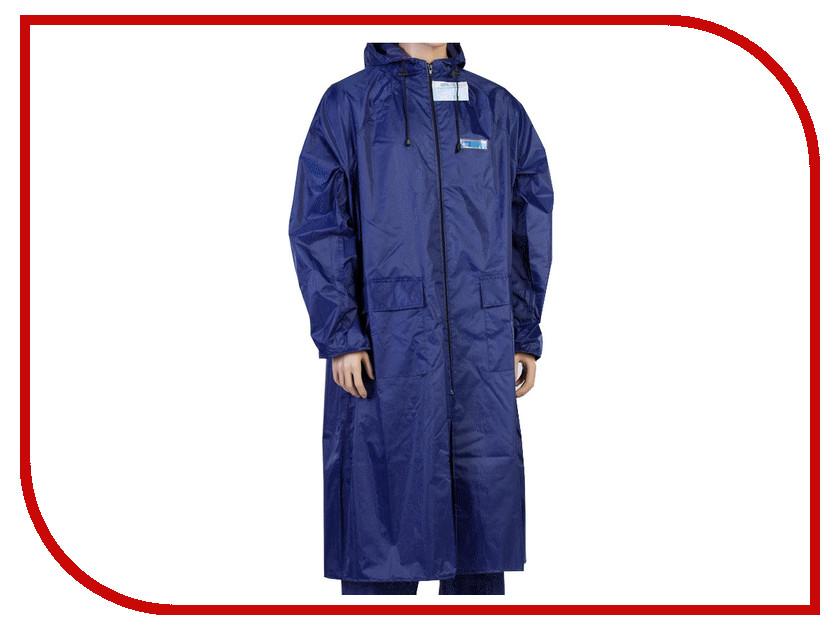 Плащ-дождевик Water Proofline Poseidon р.52-54/182-188 Blue