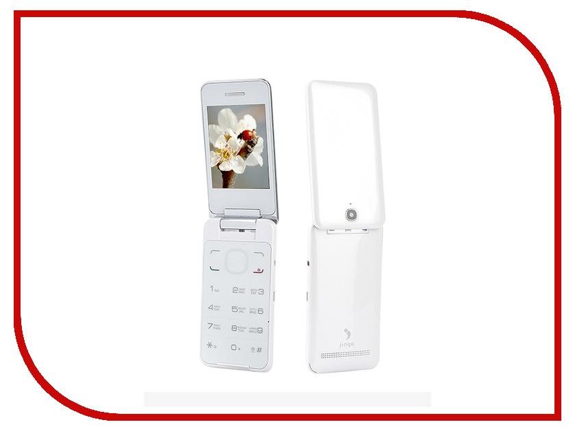 Сотовый телефон Jinga Simple F500 White