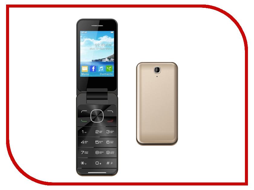 Сотовый телефон Jinga Simple F500 Golden<br>