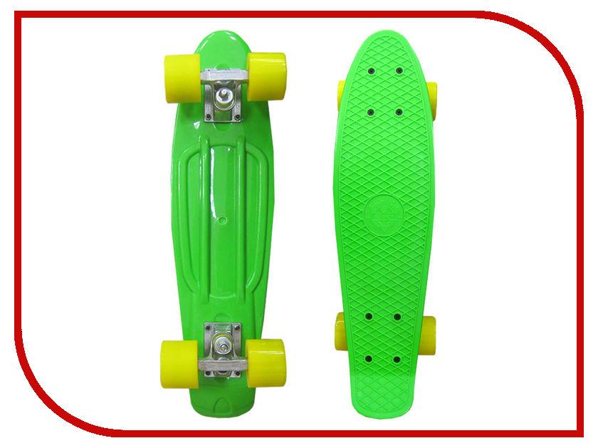 Скейт EcoBalance Cruiser Board Green Yellow