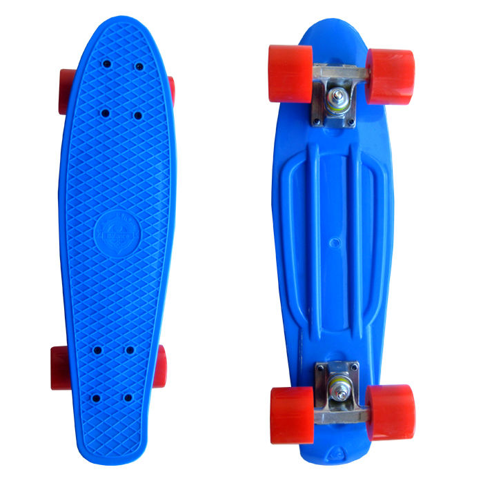 Скейт EcoBalance Cruiser Board Blue Red