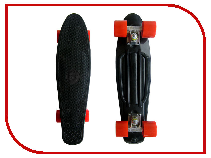 Скейт EcoBalance Cruiser Board Black Red bn44 00338f c p2632hd ady board