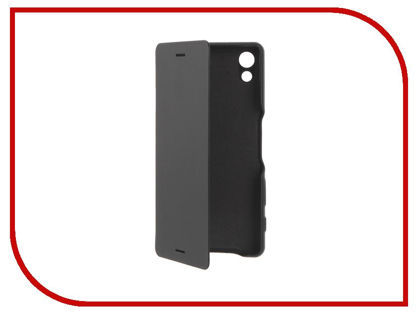 Аксессуар Чехол Sony Xperia X SCR52 Black<br>