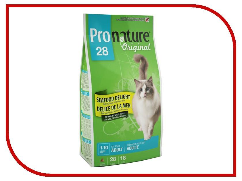 Корм Pronature Океан Удовольствия цыпленок и морепродукты 28 5.44kg для кошек 102.419<br>