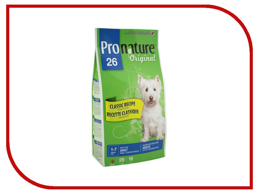 Корм Pronature Цыпленок 26 350g для собак мелких и средних пород 102.545