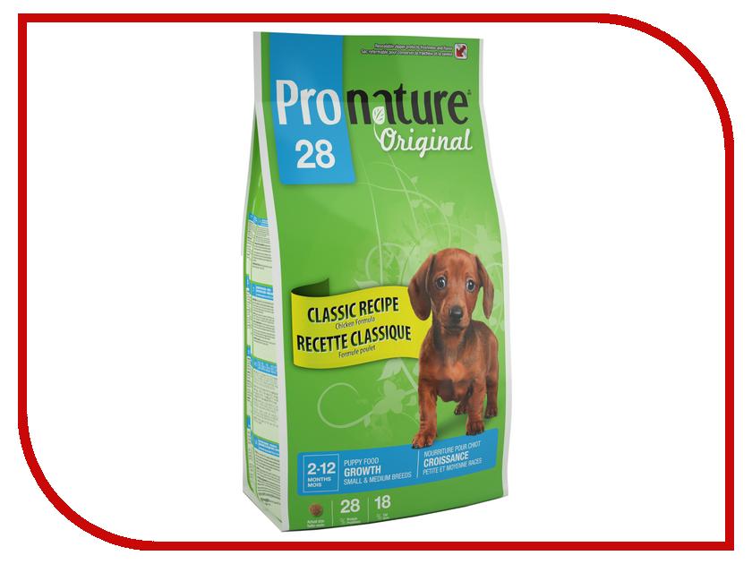 Корм Pronature Цыпленок 28 2.72kg для щенков мелких и средних пород 102.566<br>