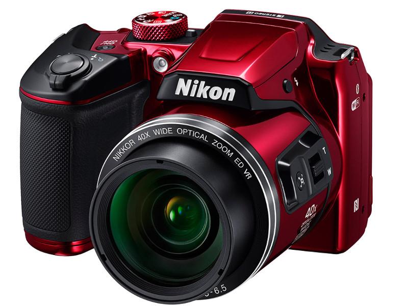 Фотоаппарат Nikon B500 Coolpix Red