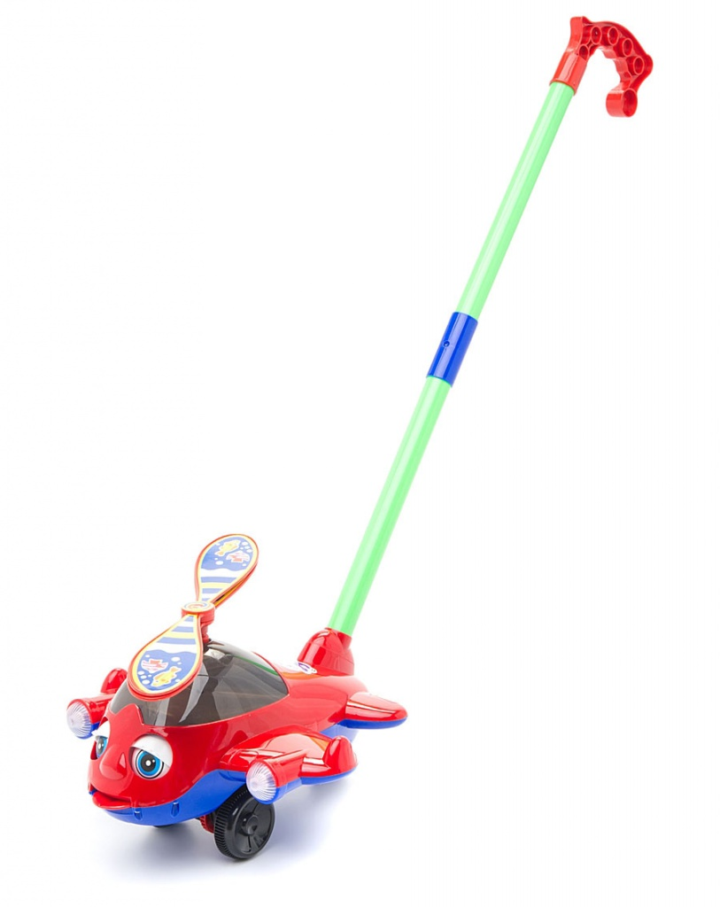 Игрушка Amico Каталка на палке Вертолет 44427 от Pleer