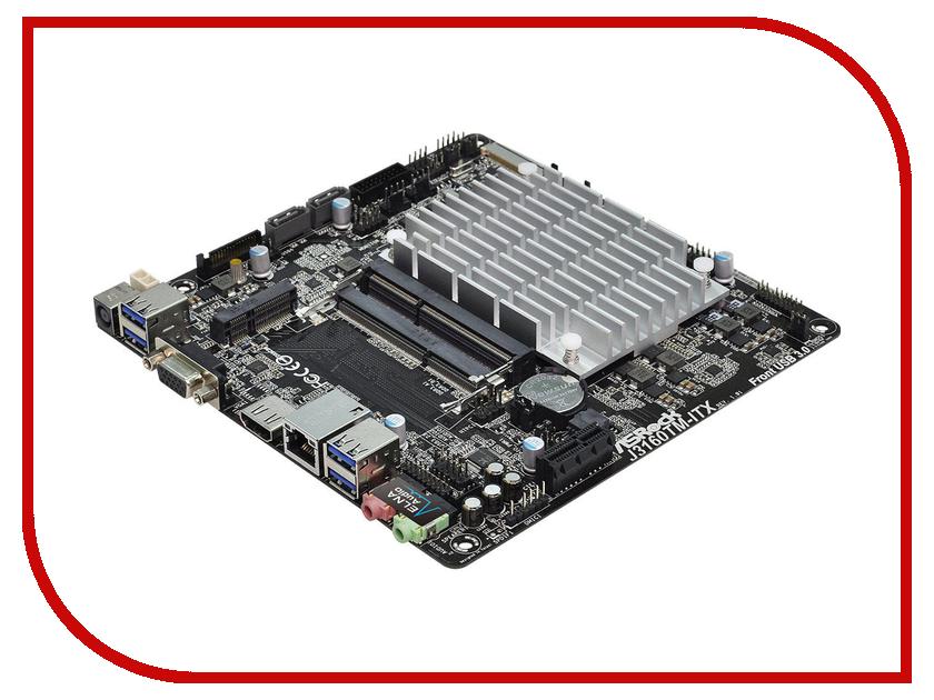 Материнская плата ASRock J3160TM-ITX<br>