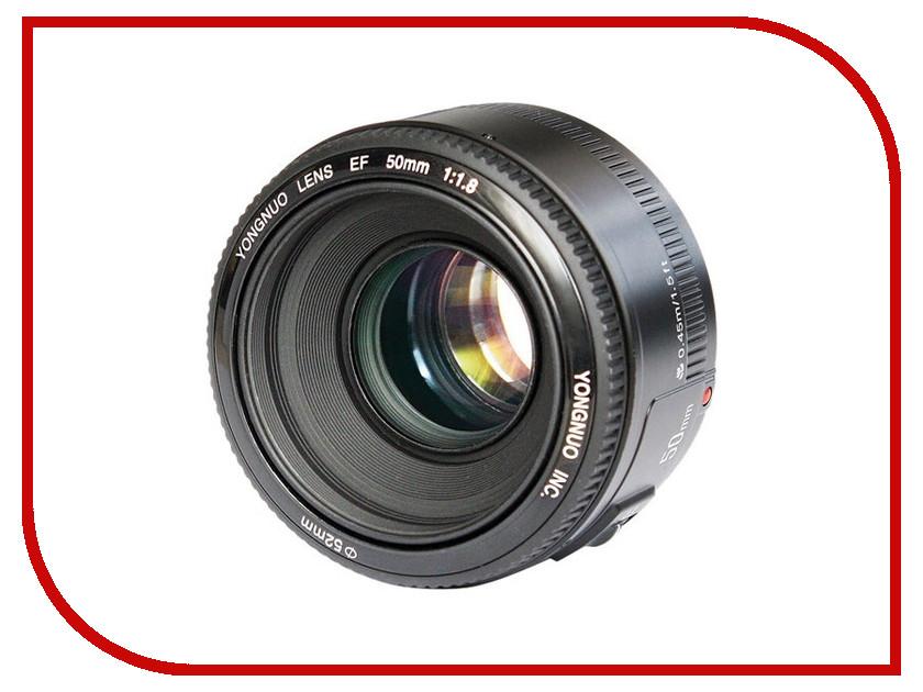 Объектив YongNuo AF 50mm f/1.8 Nikon F<br>