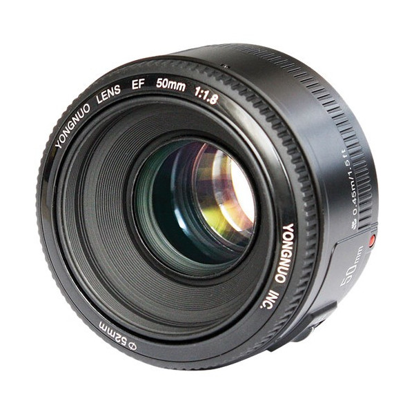 Фото - Объектив YongNuo AF 50mm f/1.8 Nikon F объектив