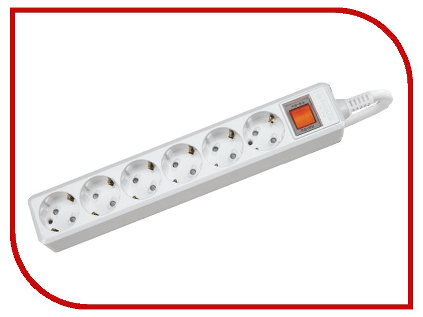 Сетевой фильтр Daesung MC2065-SP 6 Sockets 5m<br>