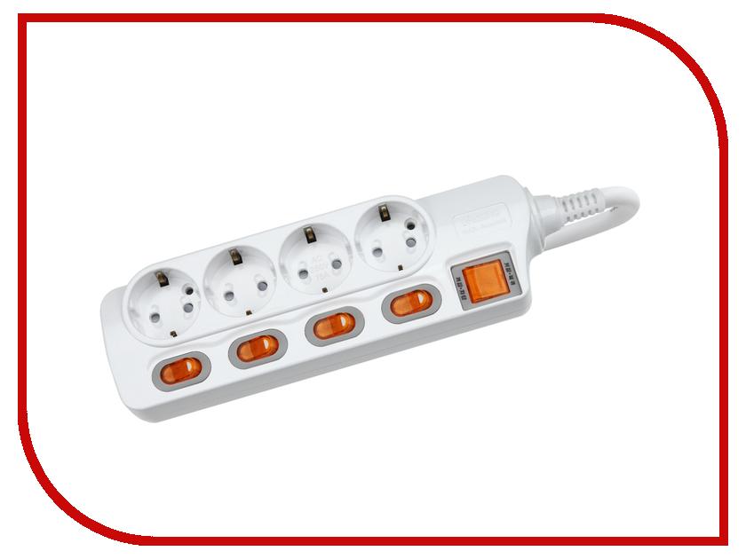 Сетевой фильтр Daesung MC2342 4 Sockets 2m<br>