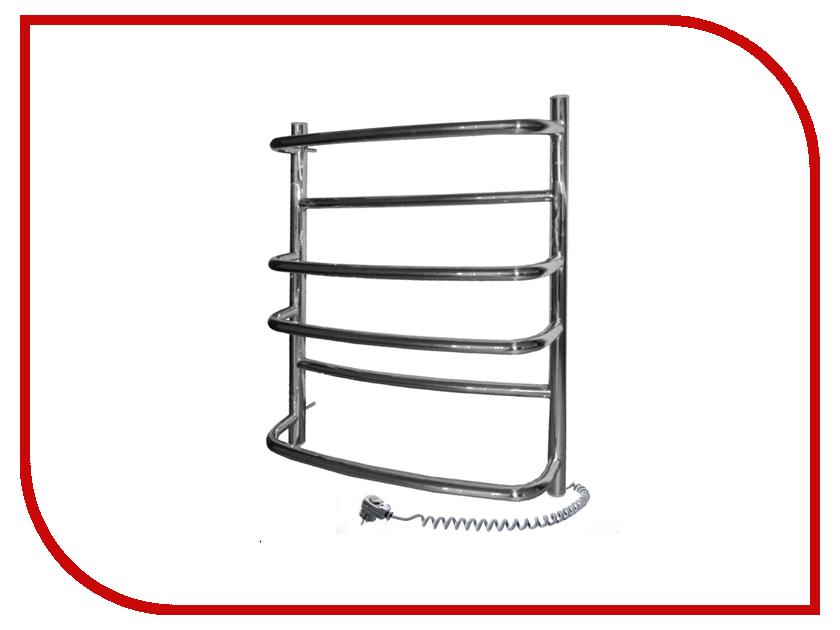 Полотенцесушитель Navin Омега 530x600 - нержавеющая сталь правый