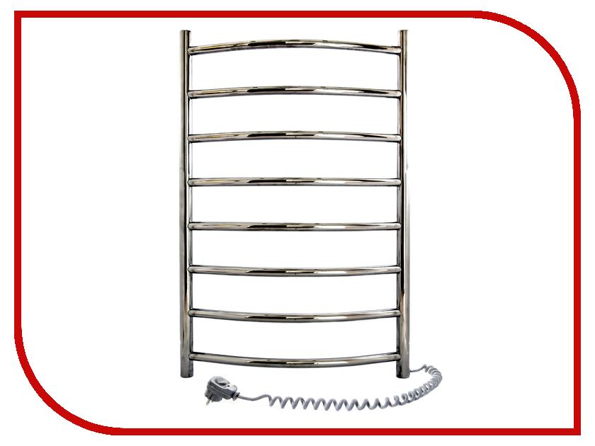 Полотенцесушитель Navin Камелия 480x800 - нержавеющая сталь левый